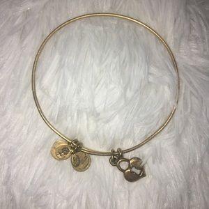 Alex & Ani key to my heart bracelet